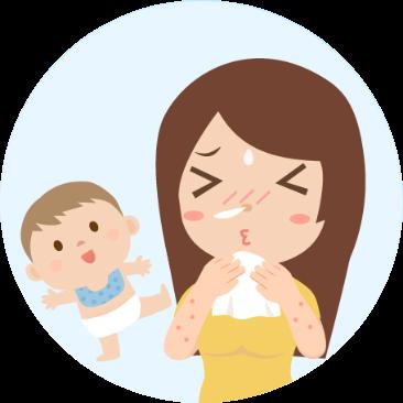 媽媽如果有過敏體質,過敏體質可以餵母奶嗎?